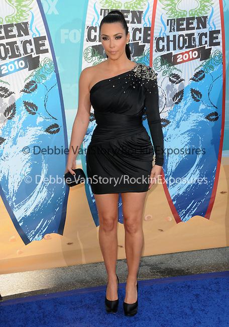 Kim Kardashian at Fox Teen Choice 2010 Awards held at he Universal Ampitheatre in Universal City, California on August 08,2010                                                                                      Copyright 2010 © DVS / RockinExposures