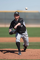 Chicago White Sox relief pitcher Robbie Ross Jr (24) during a Minor League Spring Training game against the Cincinnati Reds at the Cincinnati Reds Training Complex on March 28, 2018 in Goodyear, Arizona. (Zachary Lucy/Four Seam Images)