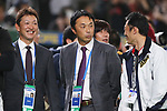 (L to R) <br /> Kazuyoshi Tatsunami, <br /> Shinya Miyamoto, <br /> MARCH 12, 2017 - WBC : <br /> 2017 World Baseball Classic <br /> Second Round Pool E Game <br /> between Japan 8-6 Netherlands <br /> at Tokyo Dome in Tokyo, Japan. <br /> (Photo by YUTAKA/AFLO SPORT)