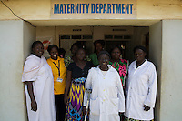 UNFPA South Sudan supports human capacity building in the health sector. UNV with her team at Muniki health centre in the maternity unit. She implements classes for pregnant women and assists them during their pregnancy.
