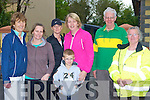 Catherine Horan, Marguerite Egan, Audrey O'Sullivan, Nathan Egan, Joan Browne, Joe Martin and Chris Doody helping a great cause by walking the Kerry Hospice Good Friday walk in Castleisland ..