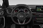 Car pictures of steering wheel view of a 2019 KIA Proceed GT 5 Door Wagon Steering Wheel