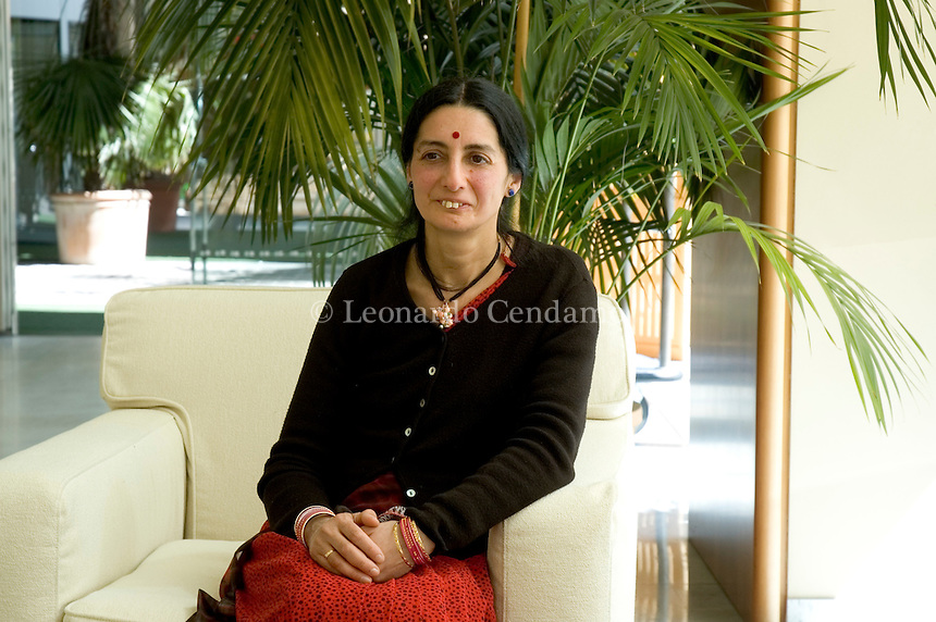 May 2005. Anna Powar, Indian writer, and nutritionist..Ms Powar is the author of 'Food Ways: An Indian`s Holistic Perspective On Nutrition And Health'. She shares Ayurvedic Medicine principles..
