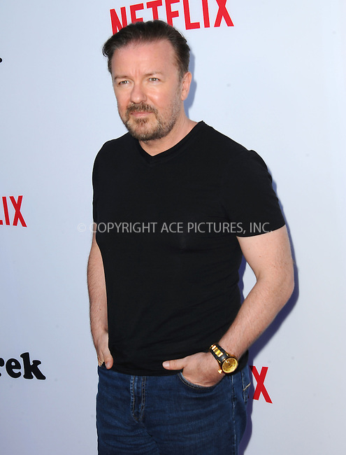 ACEPIXS.COM<br /> <br /> May 27 2014, LA<br /> <br /> Actor Ricky Gervais at the screening of 'Derek' Season 2 at the Leonard H. Goldenson Theatre on May 27, 2014 in North Hollywood, California.<br /> <br /> <br /> By Line: Peter West/ACE Pictures<br /> <br /> ACE Pictures, Inc.<br /> www.acepixs.com<br /> Email: info@acepixs.com<br /> Tel: 646 769 0430