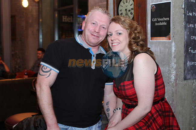 Noel McLoughlin and Lisa Gibney in Cairnes...Photo NEWSFILE/Jenny Matthews..(Photo credit should read Jenny Matthews/NEWSFILE)