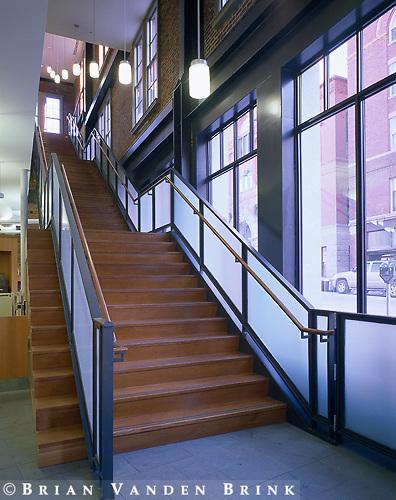 Schwartz-Silver Architects.Lewiston Public Library Addition.Lewiston, Me