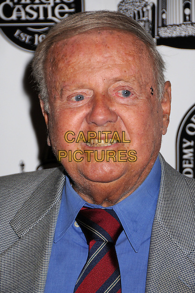 DICK VAN PATTEN .40th Annual Academy of Magical Arts Awards at the Beverly Hilton Hotel, Beverly Hills, California, USA, .portrait headshot blue shirt red tie .CAP/ADM/BP.©Byron Purvis/Admedia/Capital PIctures