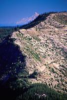Windy Ridge and Mt. Hood, Mt. St. Helens National Volcanic Monument, Washington, US
