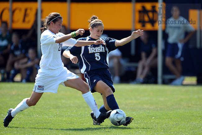 Women's Soccer 2008..Photo by Matt Cashore/University of Notre Dame..