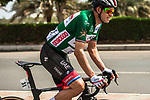 Alexander Kristoff (NOR) UAE Team Emirates wearing the Green Jersey during Stage 6 of the 10th Tour of Oman 2019, running 135.5km from Al Mouj Muscat to Matrah Corniche, Oman. 21st February 2019.<br /> Picture: ASO/K&aring;re Dehlie Thorstad | Cyclefile<br /> All photos usage must carry mandatory copyright credit (&copy; Cyclefile | ASO/K&aring;re Dehlie Thorstad)