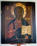 Icon of Jesus Christ, Pantocrator,  St. Silhouan Monastery, Columbia, California.