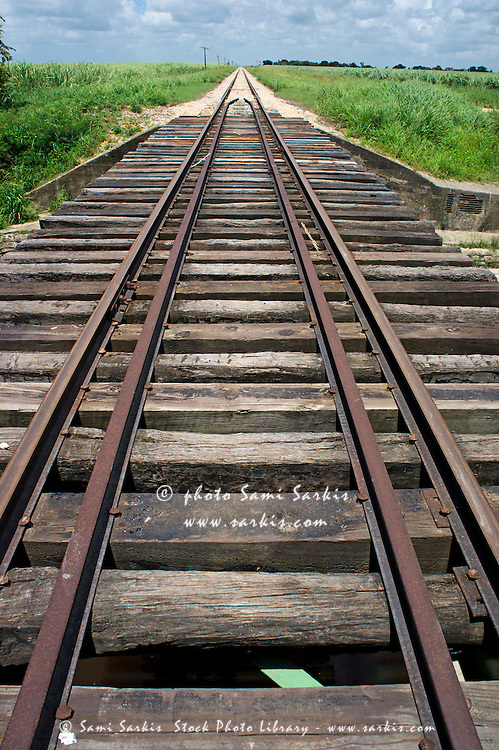 Railroad tracks, Punta Cana, Dominican Republic