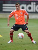 FUSSBALL  1. BUNDESLIGA   SAISON  2012/2013   Trainingsauftakt beim FC Bayern Muenchen 03.07.2012 Xherdan Shaqiri (FC Bayern Muenchen)