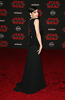 LOS ANGELES, CA - DECEMBER 9: Sofia Carson, at Premiere Of Disney Pictures And Lucasfilm's 'Star Wars: The Last Jedi' at Shrine Auditorium in Los Angeles, California on December 9, 2017. Credit: Faye Sadou/MediaPunch /NortePhoto.com NORTEPHOTOMEXICO