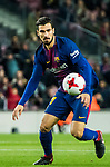 Andre Filipe Tavares Gomes of FC Barcelona in action during the Copa Del Rey 2017-18 Round of 16 (2nd leg) match between FC Barcelona and RC Celta de Vigo at Camp Nou on 11 January 2018 in Barcelona, Spain. Photo by Vicens Gimenez / Power Sport Images