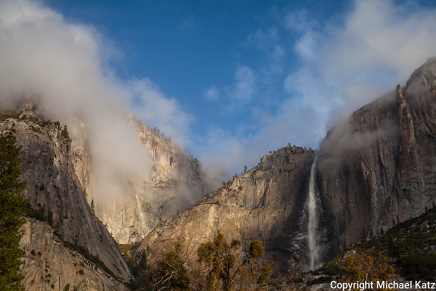 First Light, Yosemite Falls I