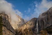First Light, Yosemite Falls I