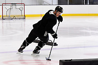 September 11, 2018: Boston Bruins center Noel Acciari (55) skates during the Boston Bruins training camp at Warrior Ice Arena in Brighton Mass. Eric Canha/CSM