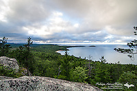 A view of the U.P. landscape and Lake Superior on a fall-like day. Sugarloaf Mountain, Marquette, MI