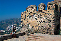 Spanien, Andalusien, Burg von Salobrena