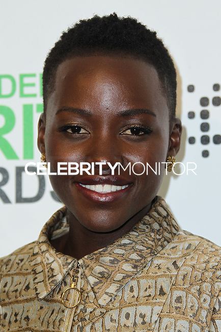 SANTA MONICA, CA, USA - MARCH 01: Lupita Nyong'o in the press room during the 2014 Film Independent Spirit Awards held at Santa Monica Beach on March 1, 2014 in Santa Monica, California, United States. (Photo by Xavier Collin/Celebrity Monitor)