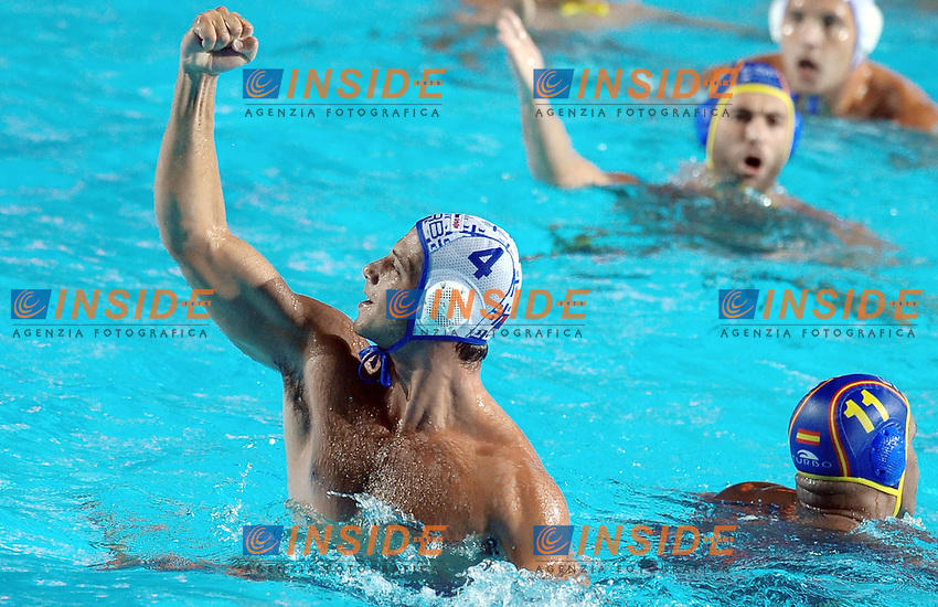 Roma 01th August 2009 - 16th Fina World Championships From 17th To 2nd August 2009.Water Polo Men.Final.Vanja Udovicic (SRB).SRB 13 - 12 ESP..Photo: Roma2009.com.InsideFoto.SeaSee.com