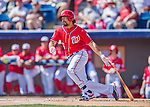 7 March 2016: Washington Nationals infielder Anthony Rendon in action during a Spring Training pre-season game against the Miami Marlins at Space Coast Stadium in Viera, Florida. The Nationals defeated the Marlins 7-4 in Grapefruit League play. Mandatory Credit: Ed Wolfstein Photo *** RAW (NEF) Image File Available ***