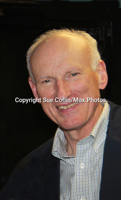 "Guiding Light James Rebhorn ""Bradley Raines"" stars in Twelve Angry Men on opening night, March 16, 2012 at the George Street Playhouse, New Brunswick, NJ.  (Photo by Sue Coflin/Max Photos)"