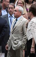 June 30, 2012 Lorne Michaels,  attend the Alec Baldwin and Hilaria Thomas Wedding Day at Basilica of St. Patrick's Old Cathedral in Little Italy in New York City.Credit:&copy; RW/MediaPunch Inc. /*NORTEPHOTO.COM*<br /> *SOLO*VENTA*EN*MEXiCO* *CREDITO*OBLIGATORIO** *No*Venta*A*Terceros* *No*Sale*So*third* ***No Se*Permite*Hacer*Archivo** *No*Sale*So*third*&Acirc;&copy;Imagenes con derechos de autor,&Acirc;&copy;todos reservados. El uso de las imagenes est&Atilde;&iexcl; sujeta de pago a nortephoto.com El uso no autorizado de esta imagen en cualquier materia est&Atilde;&iexcl; sujeta a una pena de tasa de 2 veces a la normal. Para m&Atilde;&iexcl;s informaci&Atilde;&sup3;n: nortephoto@gmail.com* nortephoto.com.