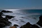 Moonlight Bass Rocks, Gloucester, Massachusetts, Cape Ann