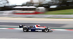 22.04.2012 Barcelona, Spain. GP Masters. Pictures show driver Fish Simon GBR with Ensign N180 at Circuit Catalunya