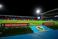 A general view of Ewood Park, home of Blackburn Rovers<br /> <br /> Photographer Alex Dodd/CameraSport<br /> <br /> Emirates FA Cup Third Round Replay - Blackburn Rovers v Newcastle United - Tuesday 15th January 2019 - Ewood Park - Blackburn<br />  <br /> World Copyright &copy; 2019 CameraSport. All rights reserved. 43 Linden Ave. Countesthorpe. Leicester. England. LE8 5PG - Tel: +44 (0) 116 277 4147 - admin@camerasport.com - www.camerasport.com