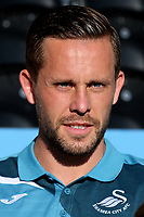 Gylfi Sigurdsson of Swansea City during Barnet vs Swansea City, Friendly Match Football at the Hive Stadium on 12th July 2017