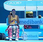 Victoria Azarenka (BLR) Defeats Jamie Hampton (USA) 6-4, 4-6, 6-2