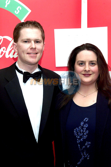 Gerry Kierans and Margaret Murray at the Drogheda Independent/Drogheda Concentrates Sportstar of the Year Awards in the Westcourt Hotel..Picture Paul Mohan Newsfile
