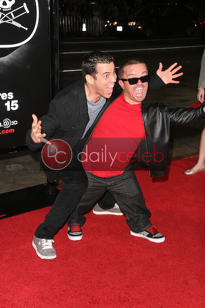 Steve O and Jason &quot;Wee Man&quot; Acuna<br /> at the premiere of &quot;Jackass 3D,&quot; Chinese Theater, Hollywood, CA. 10-13-10<br /> Dave Edwards/DailyCeleb.com 818-249-4998
