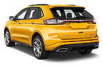 Car pictures of rear three quarter view of 2017 Ford Edge Sport-4wd 5 Door Suv Angular Rear