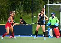 Kelsey Smith. Blacksticks Women's training game v Chile ahead of the 2019 FIH International Pro League Tournament, Grammar Hockey Turf, Auckland, New Zealand. Monday 17  December 2018. Photo: Simon Watts/Hockey NZ