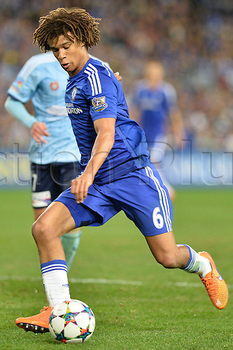 02.06.2015.  Sydney, Australia. Football Friendly. Sydney FC versus Chelsea FC. Chelsea defender Nathan Ake. Chelsea won the game 1-0.