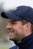 Picture:Scott Taylor Universal News And Sport (Europe) .Jamie Redknapp and Ruud Gullit T off on the Old Course at St Andrews ahead of the Alfred Dunhill Links Championship which runs from the 4th to the 7th October on the Old Course, Carnoustie and Kings Barns courses, St Andrews, Scotland, 2nd October, 2012.   .All pictures must be credited to www.universalnewsandsport.com. (Office)0844 884 51 22.