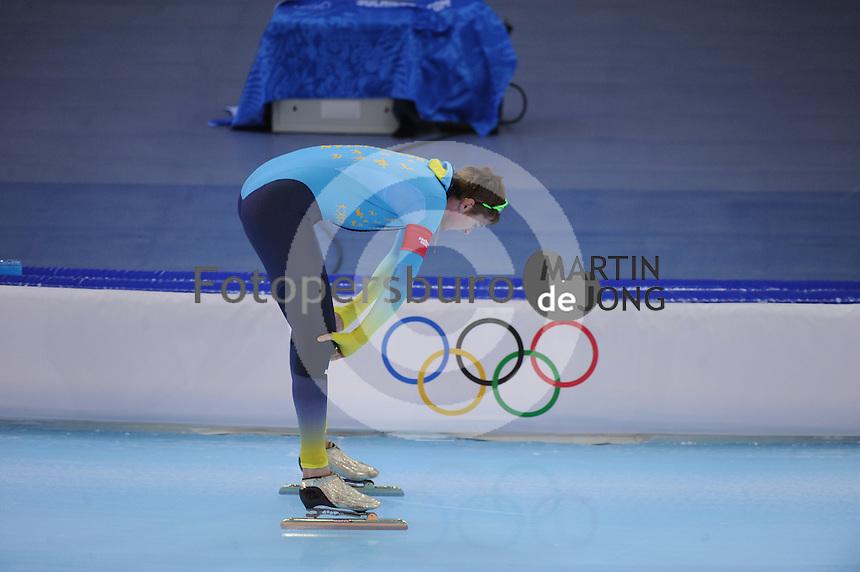 OLYMPICS: SOCHI: Adler Arena, 15-02-2014, Men's 1500m, Denis Kuzin (KAZ), ©photo Martin de Jong