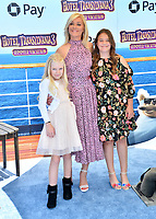 "Elisabeth Rohm & Children at the world premiere for ""Hotel Transylvania 3: Summer Vacation"" at the Regency Village Theatre, Los Angeles, USA 30 June 2018<br /> Picture: Paul Smith/Featureflash/SilverHub 0208 004 5359 sales@silverhubmedia.com"