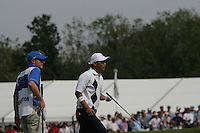 Anthony Kim after is 2nd shot to 9 during the opening fourball at the 37th Ryder Cup at Valhalla Golf Club, Louisville, Kentucky, USA - 19th September 2008 (Photo by John Hetherton/GOLFFILE)
