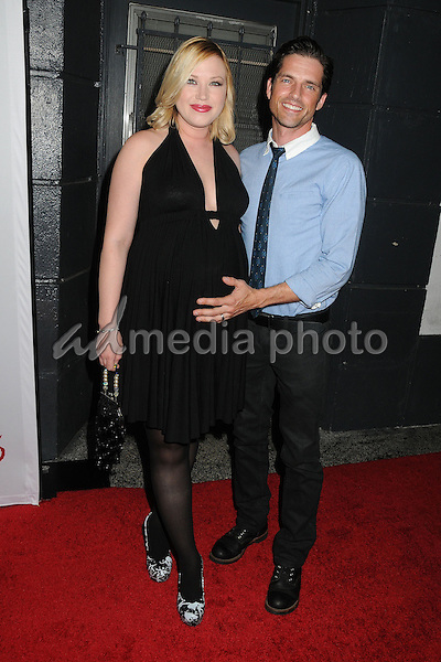 11 October 2015 - Hollywood, California - Adrienne Frantz, Scott Bailey. 15th Annual Les Girls Cabaret held at Avalon. Photo Credit: Byron Purvis/AdMedia
