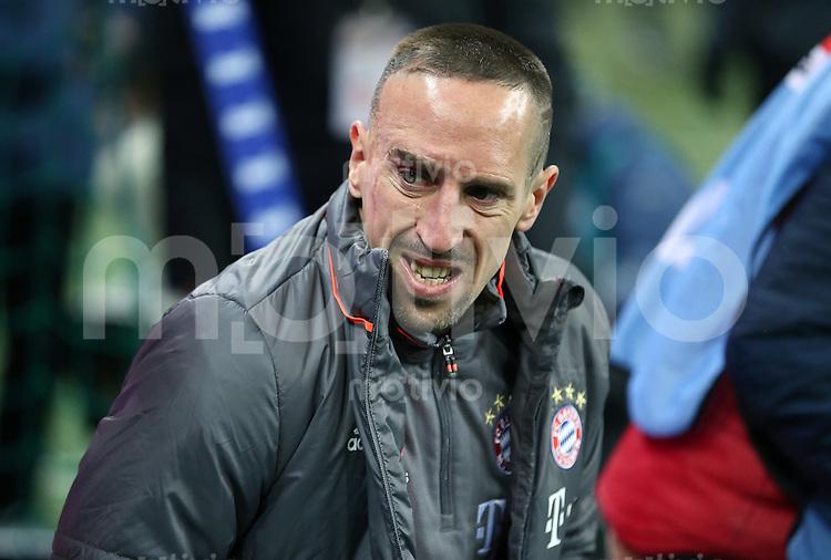 Fussball  1. Bundesliga  Saison 2016/2017  16. Spieltag  FC Bayern Muenchen - RB Leipzig        21.12.2016 Franck Ribery (FC Bayern Muenchen)
