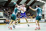 Stockholm 2014-03-02 Handboll Elitserien Hammarby IF - Ystads IF :  <br /> Ystads Mikkel Ibsen med ett f&ouml;rs&ouml;k till avslut mot m&aring;l<br /> (Foto: Kenta J&ouml;nsson) Nyckelord:  Ystad Bajen HIF