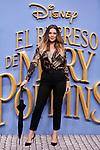 Lorena Gomez attends to Mary Poppins Returns film premiere at Kinepolis in Pozuelo de Alarcon, Spain. December 11, 2018. (ALTERPHOTOS/A. Perez Meca)
