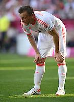 FUSSBALL   1. BUNDESLIGA  SAISON 2011/2012   33. Spieltag FC Bayern Muenchen - VfB Stuttgart       28.04.2012 Ivica Olic (FC Bayern Muenchen)