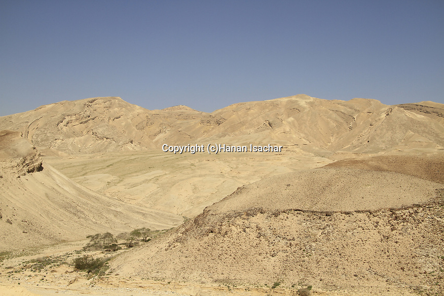 Israel, Mount Hehalak in the Negev
