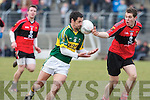 Kerry's Paul Galvin and UCC's Bart Daly.